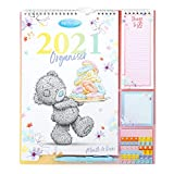 Me To You Household Planner 2021 with Calendar, Stickers, Shopping/Things to Do List