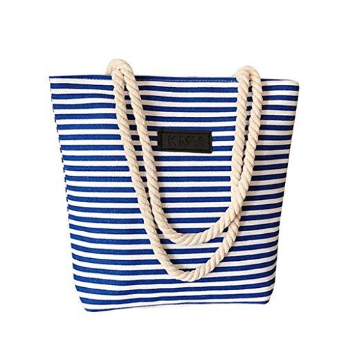Auifor Frauen-Beutel-Art- und WeiseEinkaufstasche-Handtaschen-Segeltuch-Beutel-Schulter-Beutel-beiläufige Beutel-Gezeiten