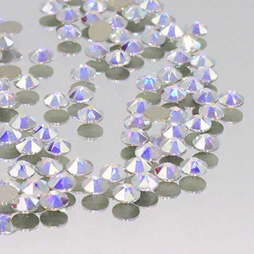 Christoph Palm lampen 100 stuks. Swarovski Ø 4 mm SS16 2088 Aurora Borealis strass-steentjes Fix XIRIUS om glittersteentjes te lijmen sierstenen 001AB