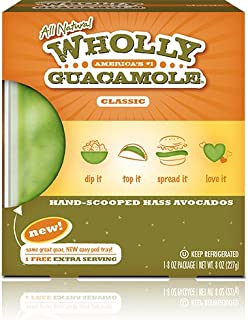 WHOLLY GUACAMOLE CLASSIC 8 OZ PACK OF 3