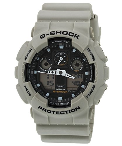 Mens Watch Casio GA100SD-8A G-Shock G-Shock Chronograph Desert Tone Plastic Resi