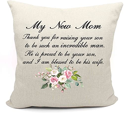 Gift for Mother of the Groom From Bride -Thank You for Raising Your...