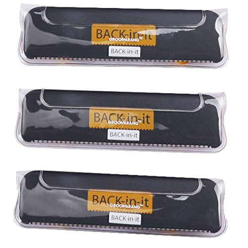 Groomarang Back-In-It Rücken- und Haarentfernungsgerät Ersatzklingen 3er Set