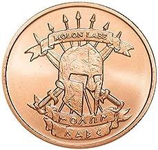 Molon Labe ~ Come And Take [Them] 1 oz .999 Pure Copper Challenge Coin