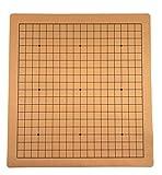 Weiqi tablero de ajedrez chino ir juego tablero de ajedrez cuero sintético ante un lado 19 línea estándar internacional