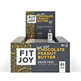 FitJoy Mini Protein Bars, Chocolate Peanut Butter, Gluten Free, Grain Free, Low Carb, .67 Ounce, 16...