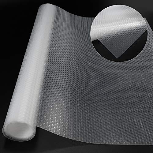Non-Slip Mat EVA Transparent Non-Adhesive Waterproof Mat Washable-Cupboard...