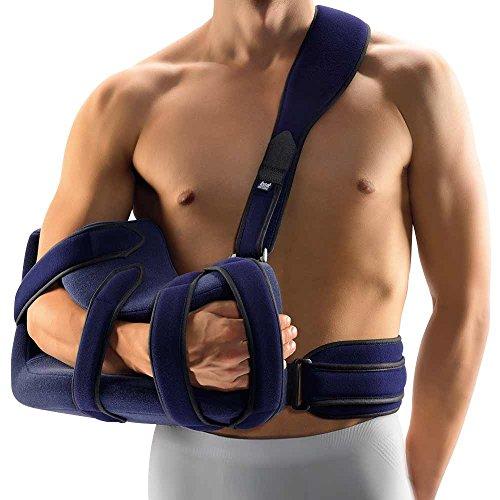 Bort OmoFX Schulter Arm Abduktionskissen Schulter Gelenk Stütze Kissen Bandage, Links, Gr. 1
