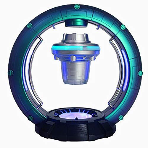 QXXZ UFO Astronave Estación Globo Magnético de Levitación con Altavoz Inalámbrico Bluetooth y Luces LED Globo de Flotante para Oficina Casa Decoraciòn Niños Navidad Regalo