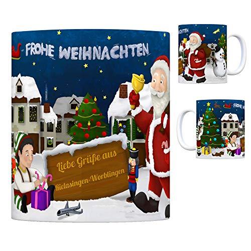 trendaffe - Rielasingen-Worblingen Weihnachtsmann Kaffeebecher