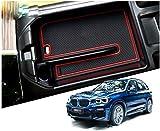 LFOTPP X3 G01 X4 G02 Apoyabrazos Consola Central Bandeja, Caja de Almacenamiento Organizador coche Interior Accesorios