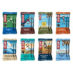 SOMETHING FOR EVERYONE: With 9-11g of protein in each bar, this variety pack contains 16 energy bars, two each of the following flavors: Chocolate Chip, Chocolate Brownie, Crunchy Peanut Butter, Blueberry Crisp, White Chocolate Macadamia Nut Flavor, ...