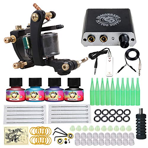 Dragonhawk Complete Tattoo Kit 1 1013GD- Best Cheap Tattoo Kit