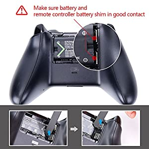 Smatree Xbox One Battery Pack 2 x 2000mAh Rechargeable Battery for Xbox One/Xbox One S/Xbox One X/Xbox One Elite Wireless Controller