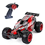 Remote Control Car, 2.4 GHZ High Speed Racing Car with 4 Batteries, Red