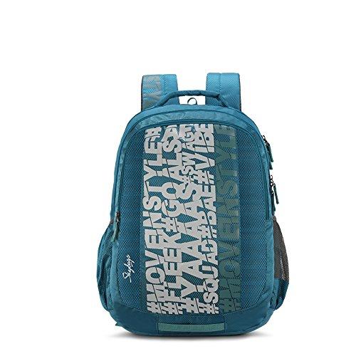 Skybags Bingo Plus 35.9856 Ltrs Sea Green School Backpack (SBBIP03SGN)