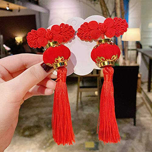 arret Middleton Exquis 1Pair Fille Épingle à Cheveux Chinois Traditionnel Princesse Gland Pivoine Fleur Épingle à Cheveux Ancien Style Hanfu Coiffure Enfant Accessoires Cheveux - H04