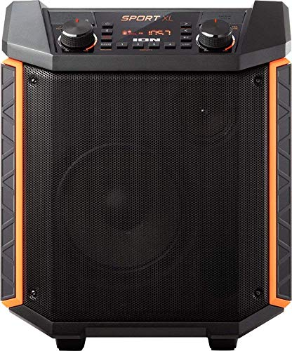 "ION Audio - Sport XL 8"" 2-Way Tailgate Portable PA Speaker - Black (Renewed)"