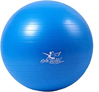 QCRLB Yoga Ball, Thicken Explosion-Proof Pregnant Women Delivery Ball Beginner Child Gym Ball (Color : #3, Size : 55cm)