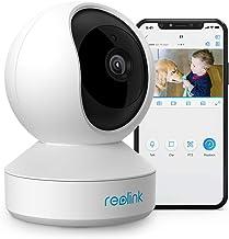 Reolink WiFi veiligheidscamera babyfoon, 3MP HD indoor surveillance, 2.4GHz draadloze camera's voor veiligheid thuis met t...