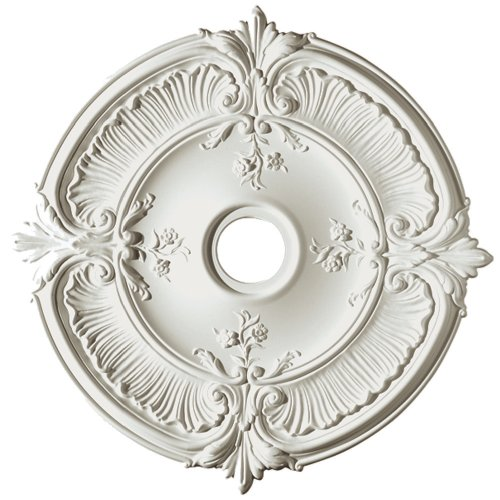 Focal Point Acanthus Medallion in Primed White (31-Inch) (81031)