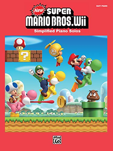 New Super Mario Bros. Wii | Klavier | Buch: Simplified Piano Solos