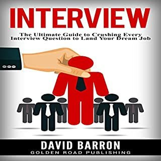 Interview audiobook cover art