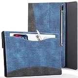 FC Funda para Samsung Galaxy Tab S7 Plus - Galaxy Tab S7 Plus Funda para Documentos con S Pen Soporte - Azul Real - Auto Sueño Estela Función, Galaxy Tab S7 Plus 12.4 Pulgadas 2020 Funda, Case, Cover