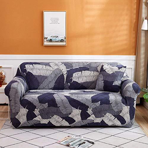 Cubierta Antideslizante en Tejido elástico Extensible Fundas de sofá de Esquina de 2 plazas Fundas de sofá universales para Sala de Estar,elástica Toalla Funda de sofá de Esquina 145-185cm U