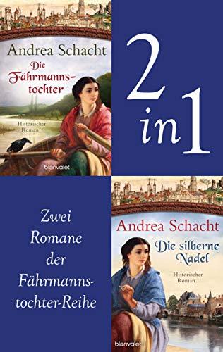 Myntha, die Fährmannstochter Band 1 und 2: Die Fährmannstochter / Die silberne Nadel: Zwei historische Romane in einem Band
