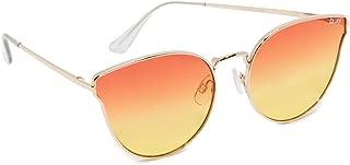 Quay Women's All My Love Sunglasses, Gold/Orange, One Size