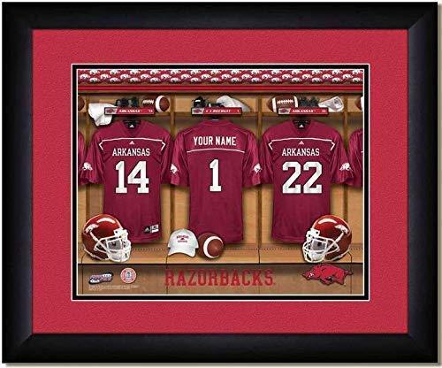 Amazon.com: Arkansas Razorbacks University Football Team Locker ...