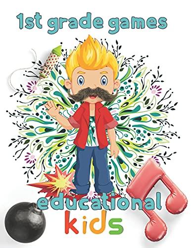 1st Grade games educational kids: 8.5''x11''/1st grade math