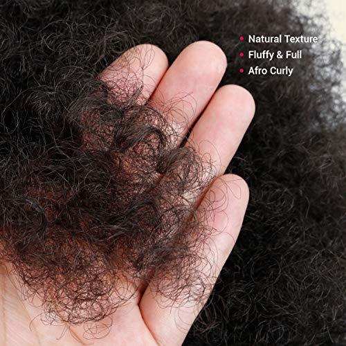Afro ponytail wig _image3