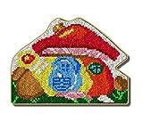 Kits de ganchos de pestillo Kits de fabricación de alfombras DIY para niños/adultos con patrón de lienzo impreso 52x38cm Hogar de setas