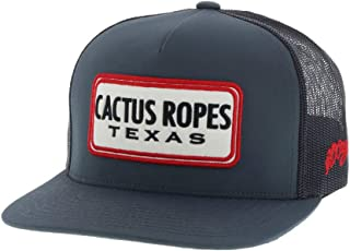 "on sale 91703 53633 HOOey ""Cactus Ropes"" Gray Gray Adjustable Snapback Hat"