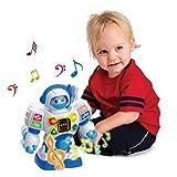 SainSmart Jr. HAP-P-Kid Preschool Learning Robot Toys, Dancing Robotic Teacher for Kids, Teach...