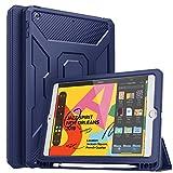 MoKo Coque pour New iPad 7th Generation 10.2' 2019 / iPad 10.2 Tablette, Étui de Protection avec...
