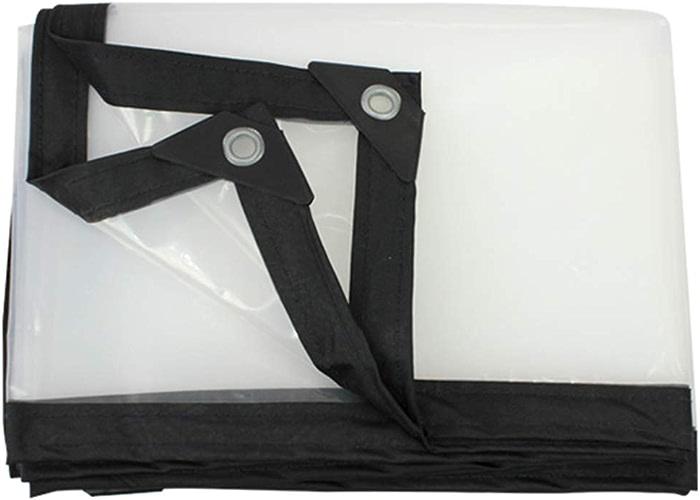 ZfgG Bache Transparente épaissie Tissu Imperméable à La Pluie Feuille De Plastique Imperméable Fenêtre Balcon Culture Cultures Bache Ombre Tissu (Taille   3X6m)