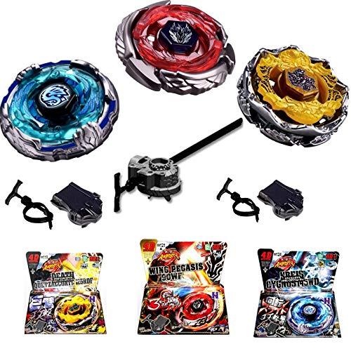 Rapdity 3X Zero G 4D Omega Dragonis Kampfkreisel 4D Legendär Metall Masters der Beybladesserie Fusion OVP Speed-Launcher Beschleunigungslauncher