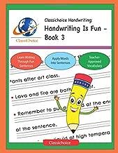 Classichoice Handwriting: Handwriting Is Fun - Book 3