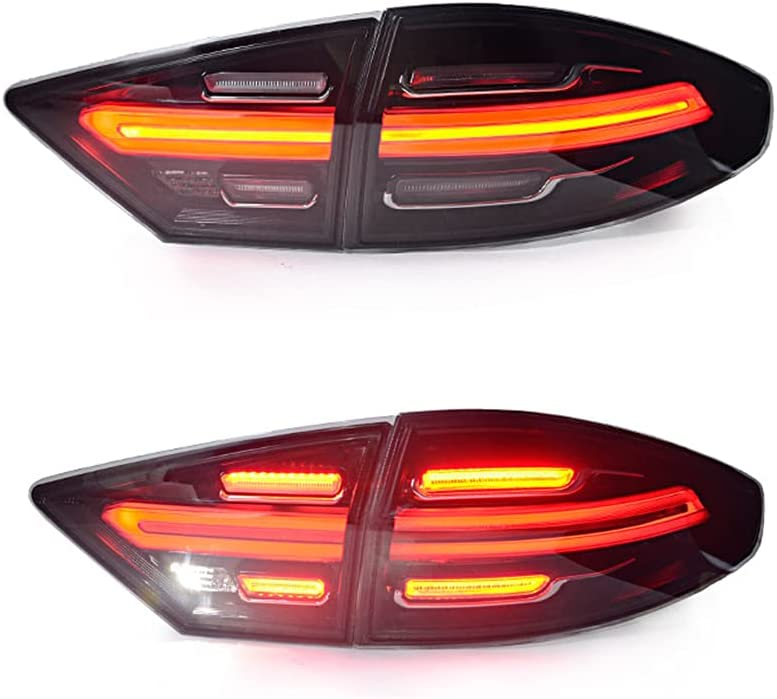 New LED Taillights Assembly Virginia Beach Mall For Direct stock discount Lamp B 2013-2016 Mondeo Rear