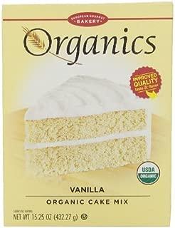 European Gourmet Bakery, Organic Vanilla Cake Mix, 15.25 oz by Dr. Oetker