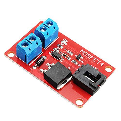 SHANG-JUN Fácil de Montar DC 1 Canal 1 Ruta IRF540 MOSFET Interruptor del módulo Geekcreit for A-r-d-u-i-n-o - Productos Que Funcionan con Placas A-r-d-u-i-n-o Oficiales 5Pcs Conveniente