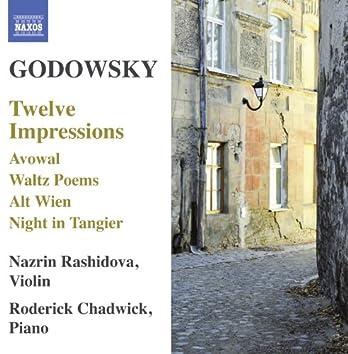 Godowsky: 12 Impressions