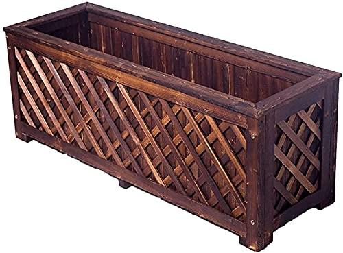 Qjkmgd Banco al aire libre de doble descanso, banco de parques al aire libre y terraza Silla de salón, asiento de jardín de madera a prueba de agua y a prueba de sol, banco de jardín de césped con rep