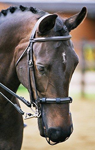 Equilibrium Relief-Rete per museruola per Cavallo, Colore: Nero Unisex-Adulto