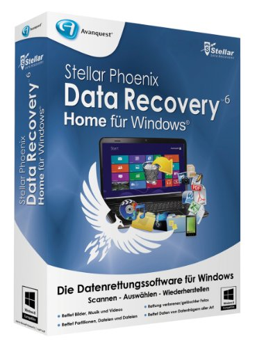 Stellar Phoenix Data Recovery 6 Win - Home