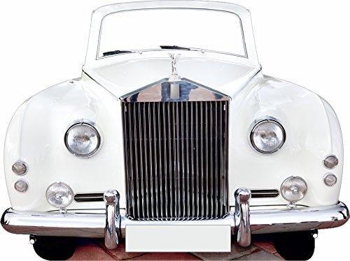 Oedim Photocall Coche de Bodas 2x1,50m   Photocall Coche Rolls Royce Blanco...