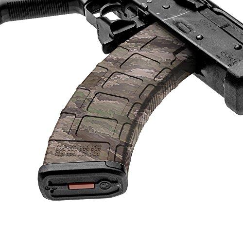 gunskins AK MAG Haut Camouflage Kit DIY Vinyl Magazin Wrap–Singles, A-TACS IX